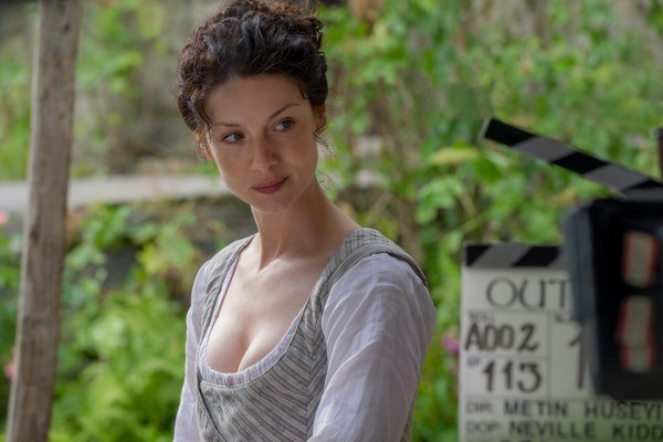 Outlander Behind the Scenes Caitriona Balfe