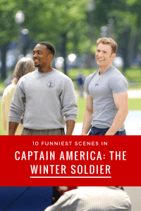 10 Funniest Scenes in Captain America: The Winter Soldier