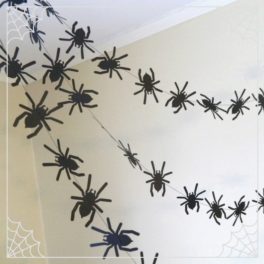 Spider Garlands