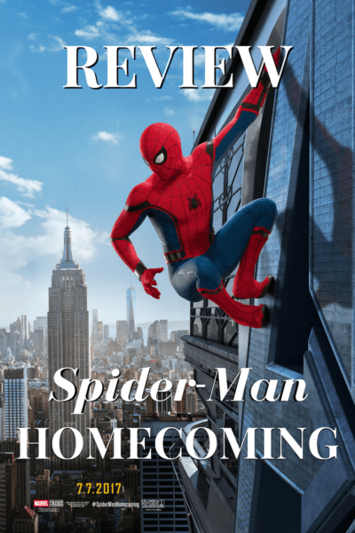 #SpidermanHomecoming is a different kind of origin story. You won't see Petey get bit by a spider, but you will see him turn into a superhero. How? Read my #Marvel movie review.