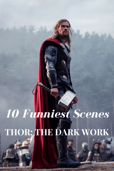 Are these the 10 funniest scenes in #Thor #TheDarkWorld? Read our #Marvel movie review.