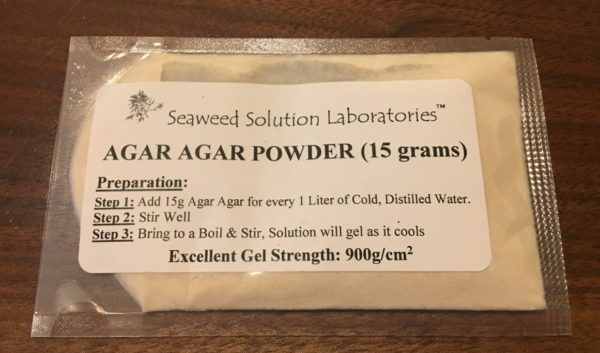 Agar Agar Packet