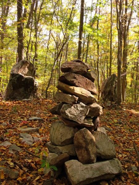 Cairn at Columcille Megalith Park CR: Nicholas A. Tonelli