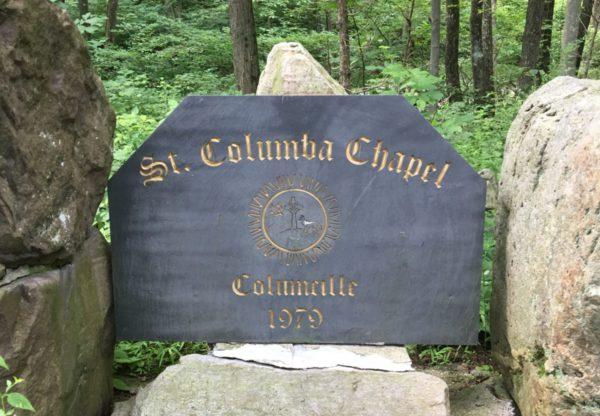 St. Columba Chapel Marker CR: Nancy Basile