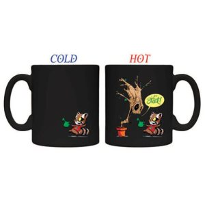 Guardians of the Galaxy Heat Changing Mug