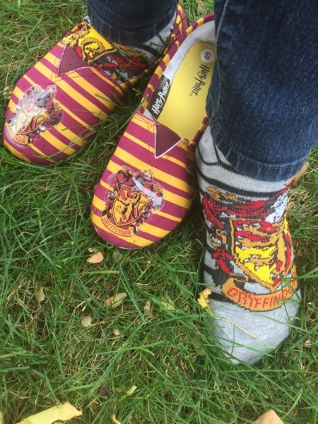 Gryffindor Shoes and Socks