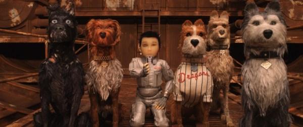 Atari with the Trash Island Dogs in Isle of Dogs