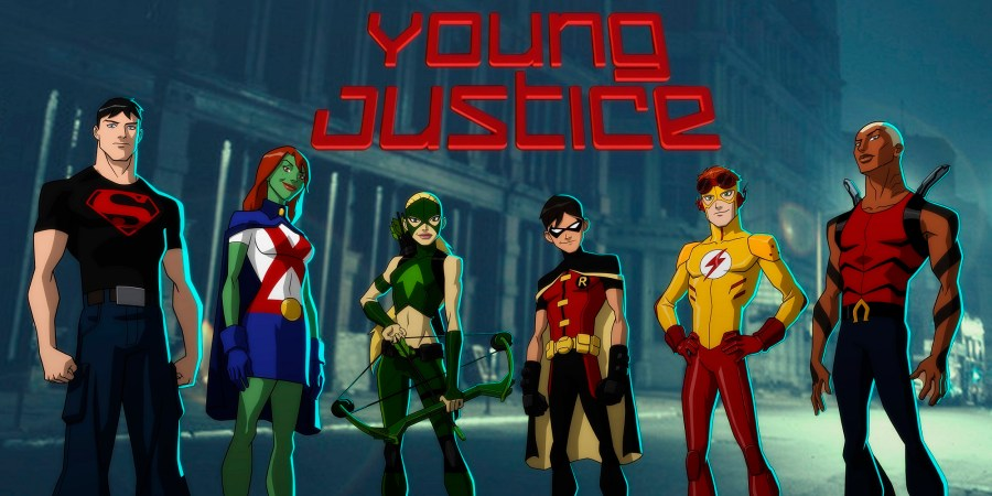 Justice League Cartoons Header