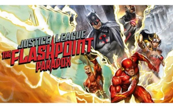 Justice League Flashpoint Paradox