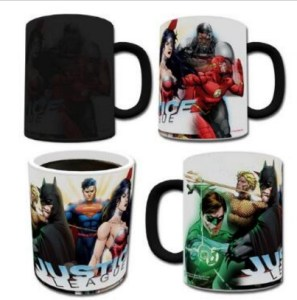 Justice League Heat Changing Mug