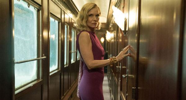 Michelle Pfeiffer in Murder on the Orient Express
