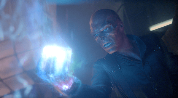Red Skull Holding Tesseract