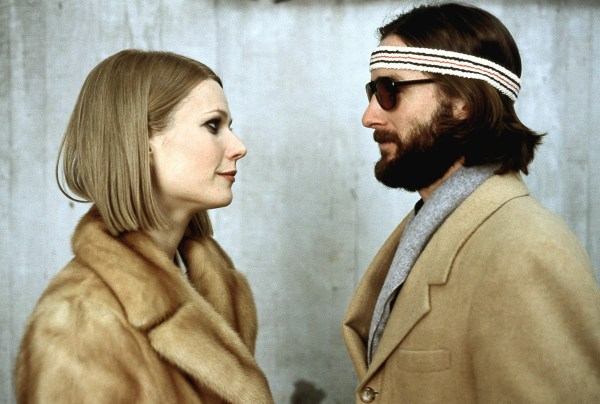 Gwyneth Paltrow and Luke Wilson in The Royal Tanenbaums