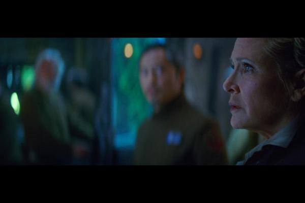Carrie Fisher as General Leia Organa in 'Star Wars: The Force Awakens'