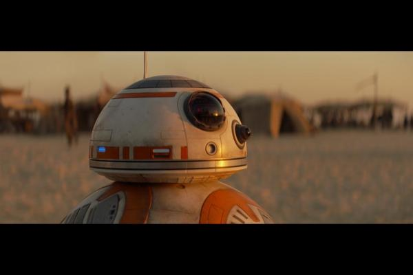 BB-8 in 'Star Wars: The Force Awakens'