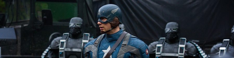 Captain America The First Avenger Header
