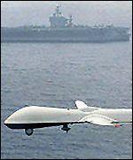 iran shoots down US spy drone