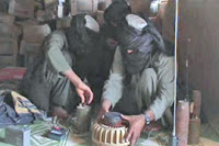 Taliban fighters possess significant amounts of explosive for anti-tank bombs