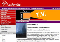virgin atlantic showing 'loose change' in-flight