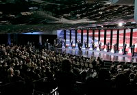 gop hopefuls debate abortion, tax cuts
