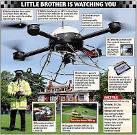 uk spy drone takes to the skies