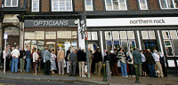thousands withdraw millions from uk's 8th largest bank