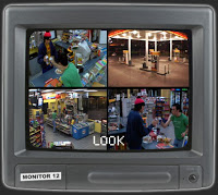 new film 'look' made entirely of surveillance footage