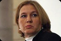 israel's livni flies to washington
