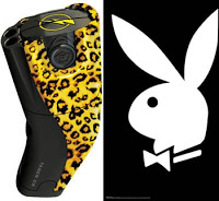 taser intl uses playboy bunnies to sell its products