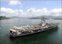 massive US naval armada heads for iran