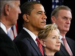 obama announces clinton, gates for his cabinet