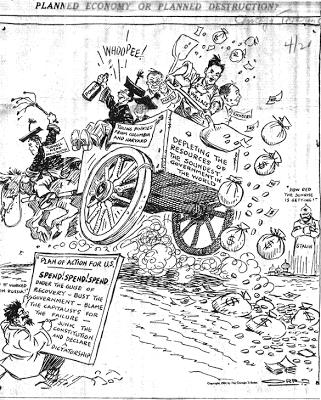 chicago tribune cartoon 1934: planned economy or planned destruction?