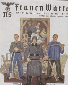 sale of nazi housewife magazines