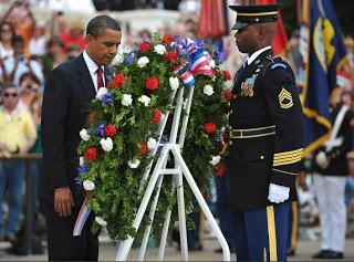 obamessiah: memorial, sacrifice & nuclear threataganda