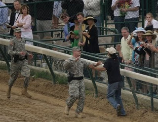 military police at the kentucky derby