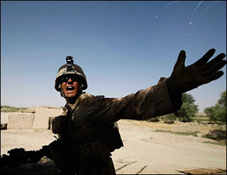 US launches major afghanisurge op: 1000's of US marines move into the world's largest opium production area
