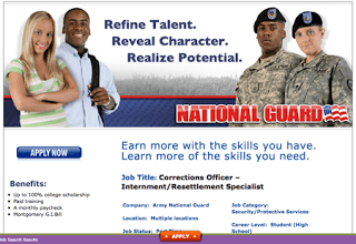 army national guard recruiting fema camp 'internment specialists'
