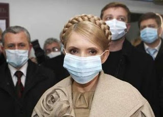 in ukraine, much panic & politicking over h1n1 virus