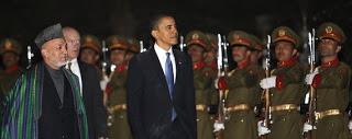 obama rallies troops in afghanistan