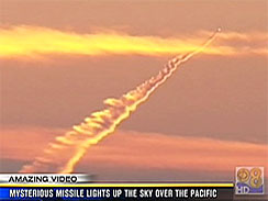 mystery missile launch seen off california coast