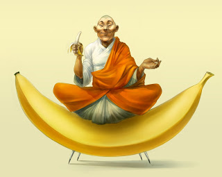 welcome to the church of the banana!