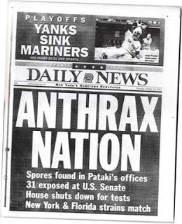 fbi lab reports on anthrax attacks suggest another miscue