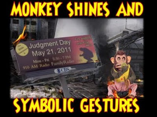 ground zero: monkey shines, symbolic gestures & more