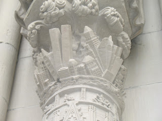 apocalyptic pillar at st john the divine cathedral