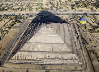 original offering found at teotihuacan pyramid