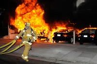 City of Angels rocked by three dozen arson car fires