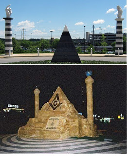 Masonic Symbols At IRS Headquarters
