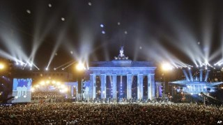 #Germany Marks 25 Years Since Fall of #BerlinWall