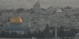 Dome Of The Rock - Jerusalem - Cityscape