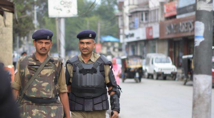 Kashmir Security Patrol